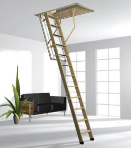 CADET 3 Norm 120x60, 120х70 Чердачная лестница DS. 56mm