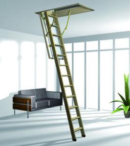 Чердачная лестница Esca 11 ISO рото roto львів