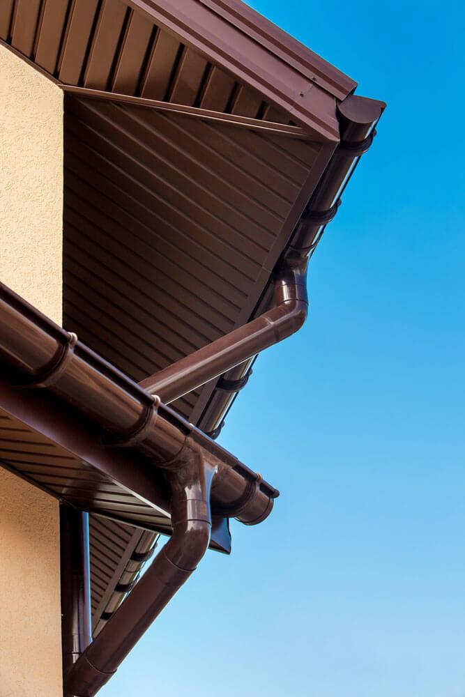 Водостічнві системи (водостоки) Profil 9075 мм біла, коричнева, графіт, цегляна, вишнева
