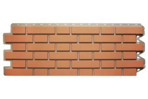 Фасадна панель Клінкерна Цегла Червона(цегляна цокольний сайдинг під ценглу) Альта профіль