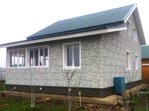 Фасадна панель під камінь Альта Профіль Львів (цокольний сайдинг фасадний)