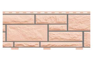 Фасадні панелі Доломіт Горіх (цокольний сайдинг) 2 м