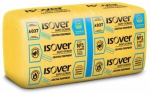 Мінеральна вата Ізовер Скатна Покрівля плита 50 мм (14.27 м кв.)