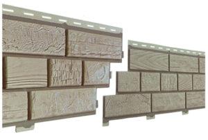 фасадна панель пластиковий цокольний сайдинг Неоліт під цеглу Альта профіль