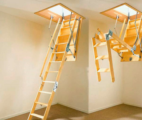 лестница-на-чердак-складная